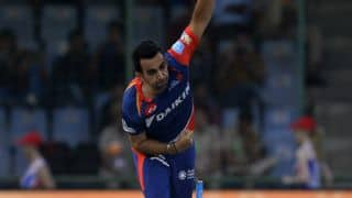 IPL 2017: Zaheer Khan praises DD despite defeat to MI