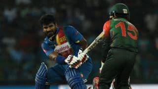 Kusal and Thisara Perera help Sri Lanka reach 159 against Bangladesh, 6th T20I Nidahas Trophy 2018