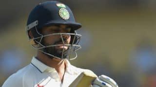 India vs England, 1st Test: Virat Kohli batting as India need 261 in final session