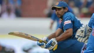India vs Sri Lanka 4th ODI: Dilshan out for 33