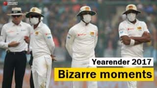 Year-ender 2017: Cricket's bizarre moments