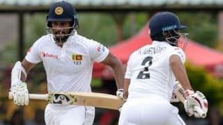 2nd Test: Karunaratne steady for Sri Lanka in rain-affected opening day
