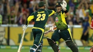 Australia vs England, 1st ODI at MCG