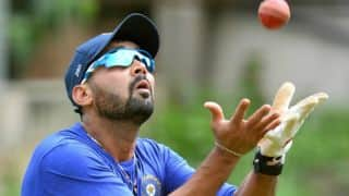 Murali Vijay set to test his fitness in league match ahead of India's tour to Sri Lanka