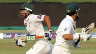 Younis Khan propels Pakistan to 261/4 at stumps on Day 1 against Sri Lanka in 1st Test