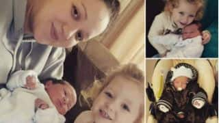 Sarah Taylor clears air about her 'two children'