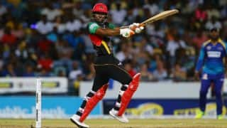 CPL 2017: Evin Lewis' whirlwind knock powers St Kitts and Nevis Patriots to 10-wicket win over Barbados Tridents