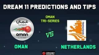 OMN vs NED Dream11 Team Oman vs Netherlands, Match 8, Oman T20I Series  – Cricket Prediction Tips For Today's Match OMN vs NED at Amarat