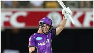 Big Bash League, 2017-18: D'Arcy Short hits 122 runs in 69 balls against Brisbane Heat, Watch Video