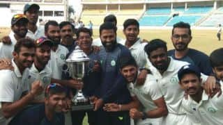 Irani Cup: Vidarbha won by First Innings lead against Rest of India, defend title