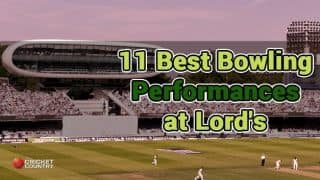 11 Best bowling performances at Lord's