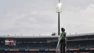 1st T20I: Rain comes to Pakistan's rescue after batting failure