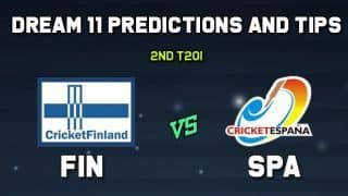 FIN vs SPA Dream11 Team 2nd T20I Spain vs Finland T20I – Cricket Prediction Tips For Today's T20I Match Finland vs Spain at Kerava
