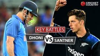 India vs New Zealand, 1st T20 at Delhi: MS Dhoni vs Mitchell Santner and other key battles