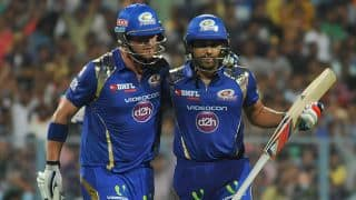 Corey Anderson completes half-century for Mumbai Indians vs Rajasthan Royals in IPL 2015 match