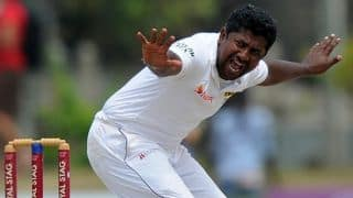 Rangana Herath, Tharindu Kaushal reduce India to 78/7 against Sri Lanka at lunch on Day 4 of 1st Test at Galle