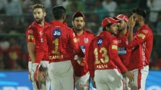 IPL 2018, Match 40: RR derailed by Andrew Tye, finish on 158 for 8 vs KXIP