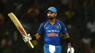 Virat Kohli's 30th ton, MS Dhoni's 100th stumping guide India to victory in final ODI; whitewash Sri Lanka 5-0