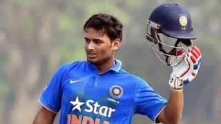 रिषभ पंत ने डी वीई पाटिल टूर्नामेंट में खेली 84 रनों की आतिशी पारी