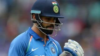 Virat Kohli's duck, MS Dhoni's record and other video highlights