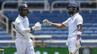 2nd Test: Kohli, Agarwal half-centuries help India consolidate
