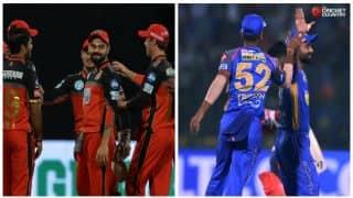 आईपीएल 2018: विराट कोहली ने टॉस जीता; राजस्थान रॉयल्स के खिलाफ पहले गेंदबाजी करेगी रॉयल चैलेंजर्स बैंगलोर