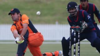 Live Cricket Score, Nepal vs Netherlands, ICC World Cup Qualifiers 2018, 7th place play-off: NEP 8 down