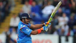 Suresh Raina silences critics after cracking stupendous ton for India against England at Cardiff