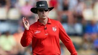Simon Fry joins the elite group of Test umpires