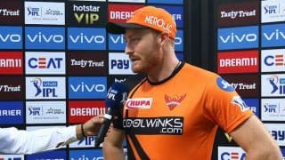 MI vs SRH LIVE: TOSS REPORT - Unchanged Mumbai Indians opt to bat vs Sunrisers Hyderabad; Martin Guptill, Basil Thampi in for SRH