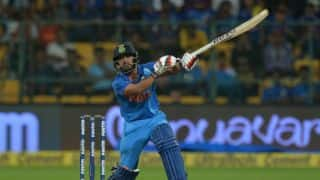 Sundar replaces injured Jadhav