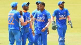 U19 Asia Cup: Sushant Mishra, Atharva Ankolekar share 9 wickets to lead India U19 to nervy three-wicket win