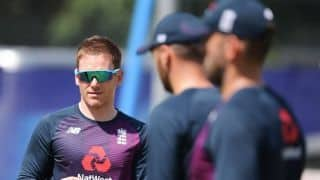 Under-fire England gear up for 'away' match at own World Cup