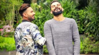 Rishabh Pant's goofy message for skipper Virat Kohli on 31th Birthday