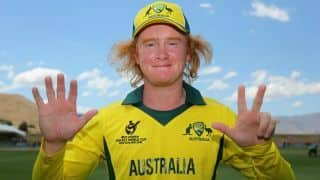 Australian leg-spinner Lloyd Pope becomes youngest to claim a seven-wicket haul in Sheffield
