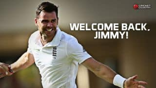 James Anderson recalled to England squad for 5th Ashes 2015 Test at The Oval