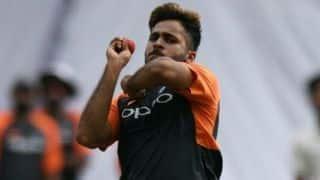 Shardul Thakur, Tushar Deshpande return to Mumbai squad for Vidarbha game
