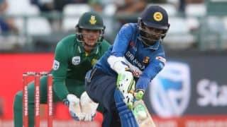 Upul Tharanga's ton in vain as South Africa beat Sri Lanka by 40 runs in 4th ODI; lead series 4-0