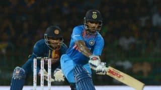 Nidahas Trophy 2018: Shikhar Dhawan propels India to 174 against Sri Lanka in 1st T20I