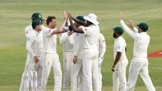1st Test: Dale Steyn grabs four, advantage South Africa