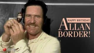 Happy Birthday, Allan Border! Former Australian great turns 61