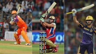 आईपीएल 2017 में अबतक सबसे ज्यादा छक्के लगाने वाले बल्लेबाज