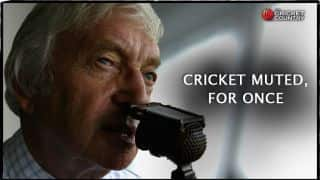 Richie Benaud passes away: Cricket muted, for once