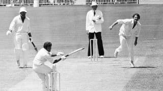 World Cup Countdown: 1975 – Dennis Lillee receives a pasting from Alvin Kallicharran