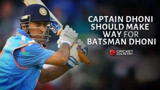 MS Dhoni, quit captaincy and maximise the wicketkeeper-batsman in you