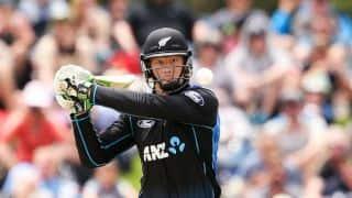 New Zealand post decent 294-5 against Sri Lanka in fifth ODI at Mount Maunganui