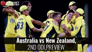 Australia vs New Zealand, 2nd ODI, Preview and Predictions