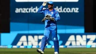 Dhoni bemoans lack of partnerships in 1st ODI loss to New Zealand