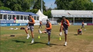 India shorten practice match vs Essex owing to poor outfield, pitch