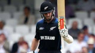New Zealand post 273/6 against Zimbabwe at Harare in series decider